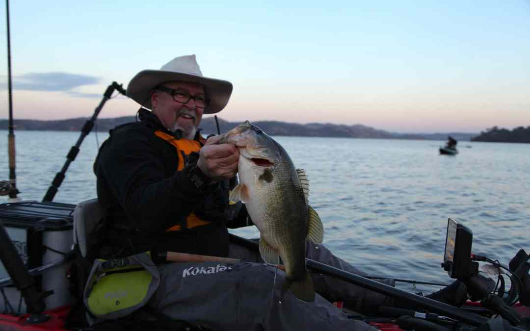 Kayak Fishing Nor Cal Lakes