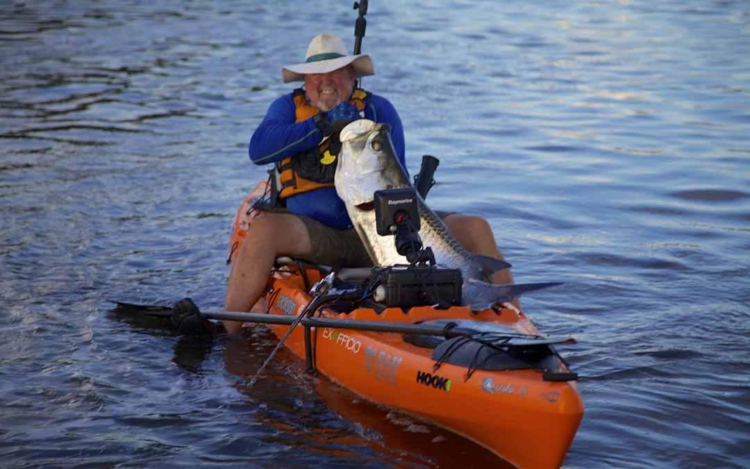 Kayak Fishing | Big Tarpon in Puerto Rico