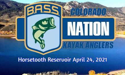 Colorado Kayak Bassmasters Tournament Horsetooth Reservoir