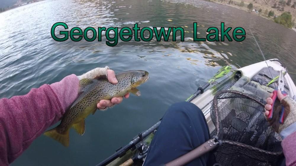 Brown Trout Mountain Kayak Fishing