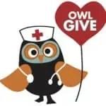 Owl Give Logo for JCF Website