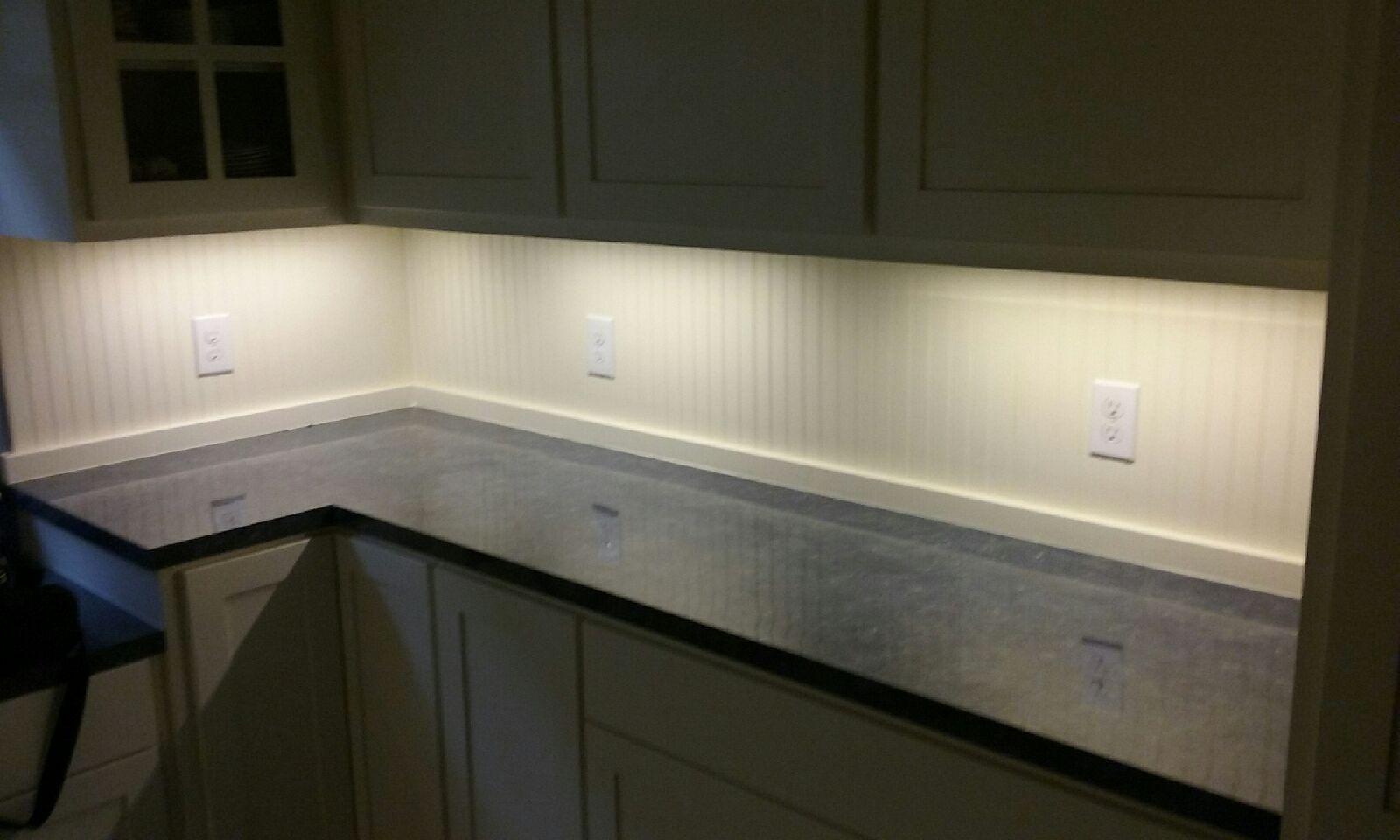 undercabinet lights led kitchen custom