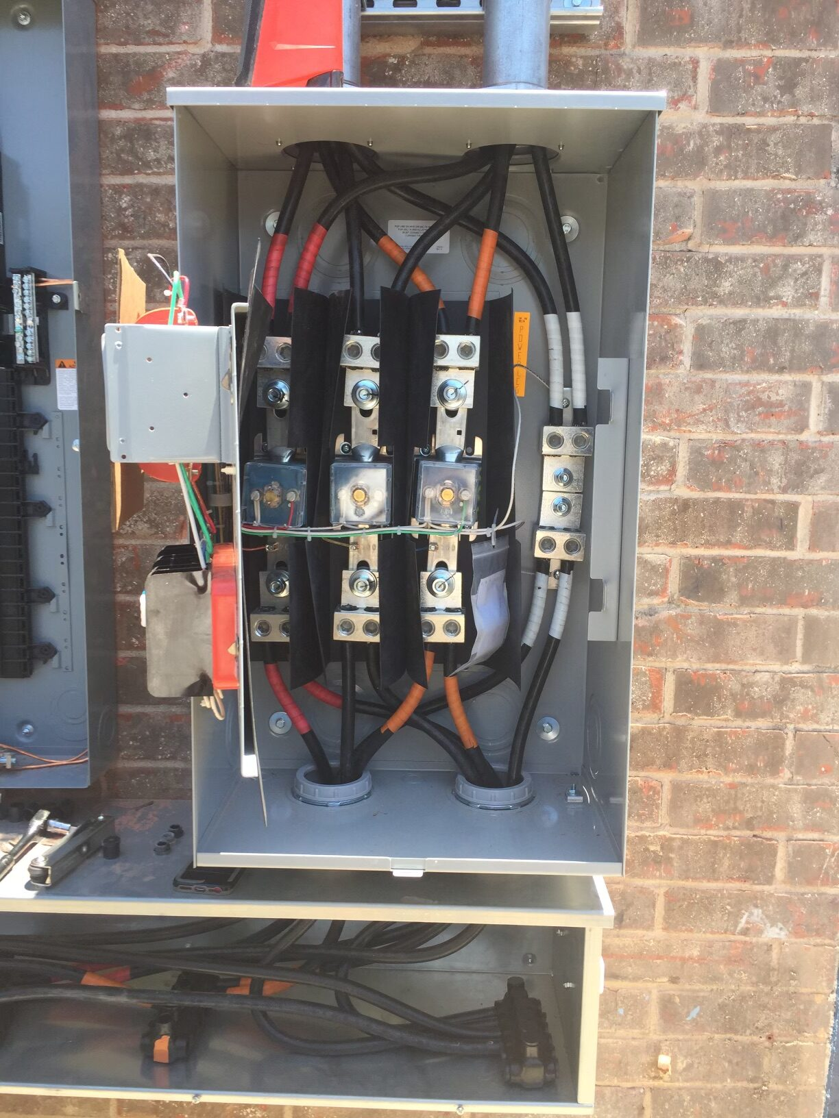 electrical service panel residential