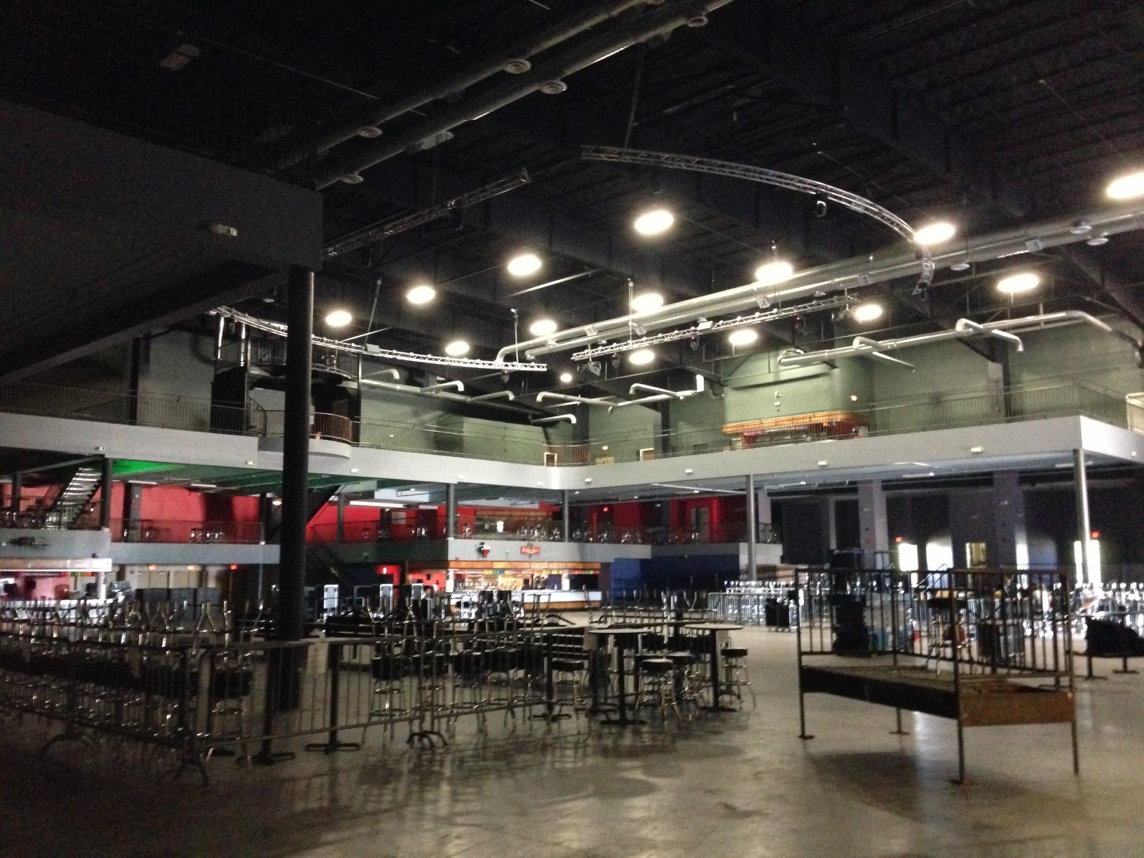 commercial electrical lighting construction remodel