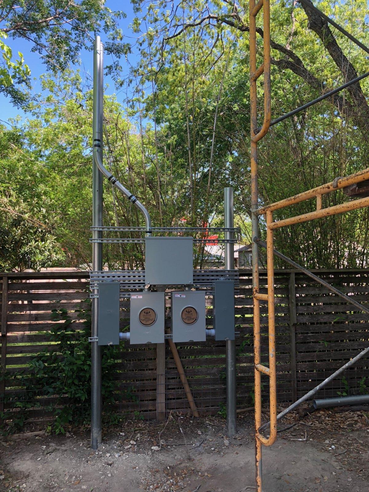 electrical custom service rack residential