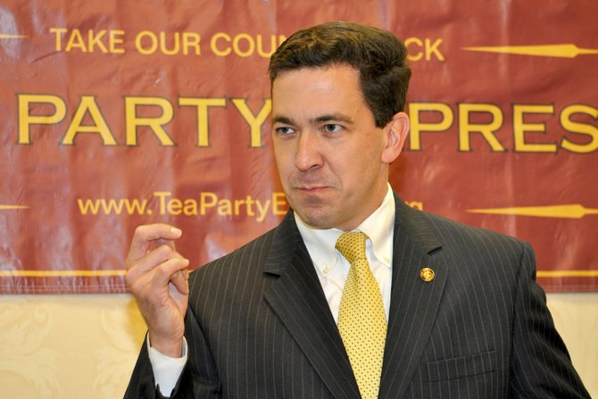 Sen. Chris McDaniel announced Thursday, Oct. 17 that he will run for U.S. Congress in 2014.
