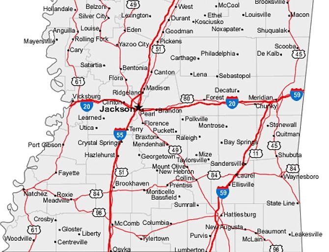 Freedom Summer Road Map Jackson Free Press Jackson MS