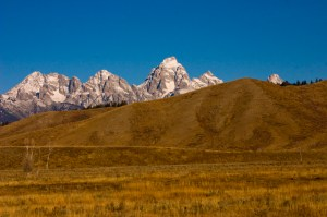 The Tetons Show Their Majesty