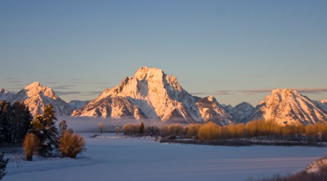 Morning Coffee – Oxbow Bend at -15…