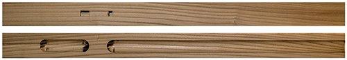 Russian Olive Pre-Bored Native American Style Flute Blanks