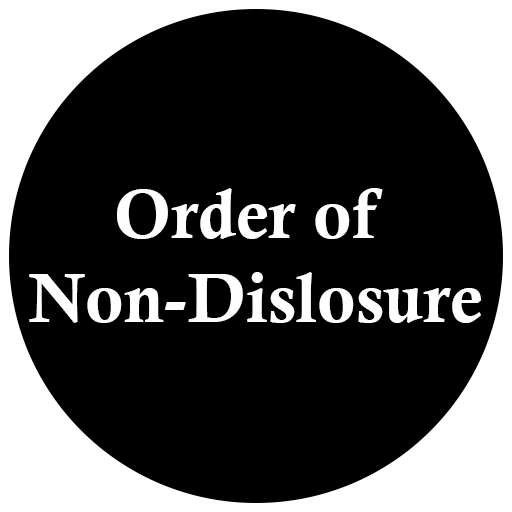 Orders of Non-Disclosure / Expungements