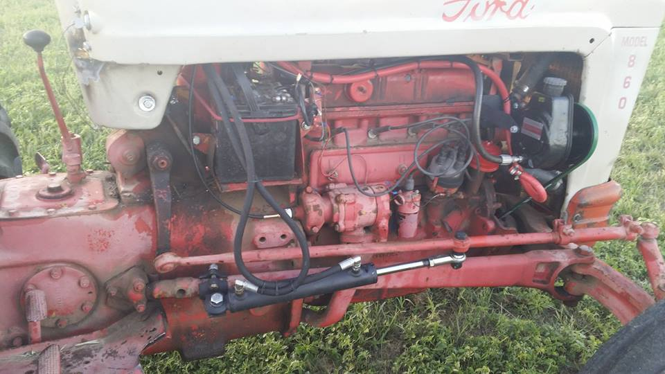 860 ford jackson power steeringFord Tractor Power Steering Conversion Kit 4 Cylinder Tractors #13