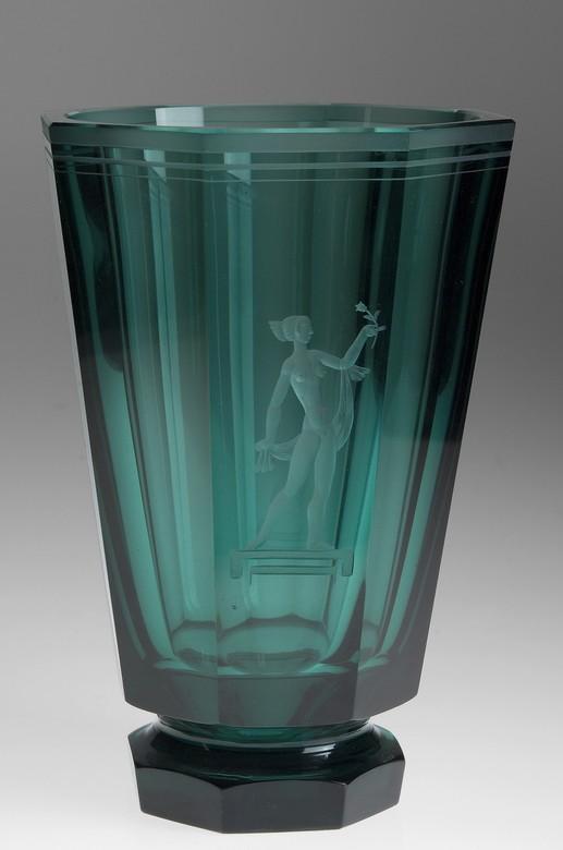 Jacksons Orrefors Vase By Simon Gate Gate Simon
