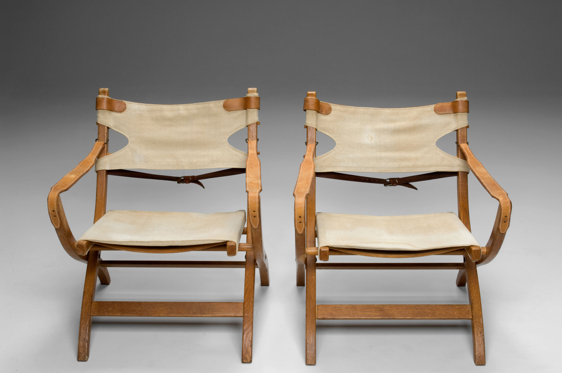Safari Chairs Jacksons Pair Of Safari Chairs Poul Hundevad