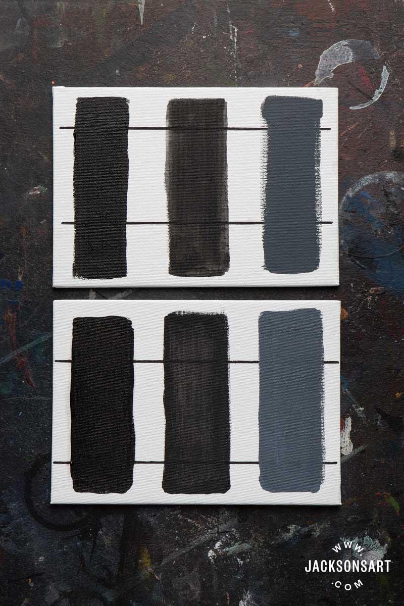 Ivory Black Vs Lamp Black : ivory, black, Comparing, Black, Pigments,, Their, Properties,, Jackson's