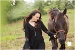 Greensburg and Pittsburgh Senior Portrait Photographer; High School Senior Photos with a Horse