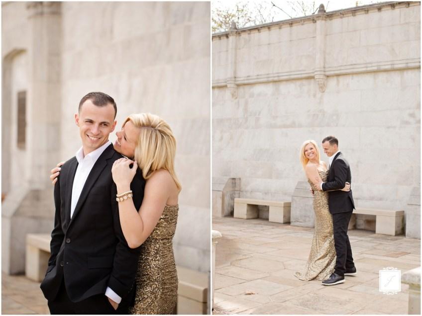 Mellon Park Engagement Session Pittsburgh Wedding