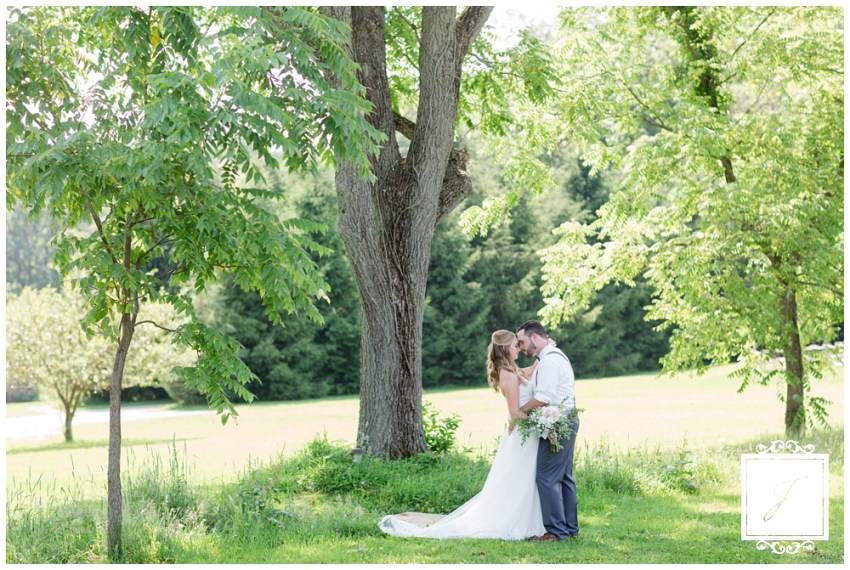 Dusty blue and light pink summer bicycle theme wedding at SanaView Farms Wedding in Champion Pennsylvania by Jackson Signature Photography a Pittsburgh Wedding Photographer
