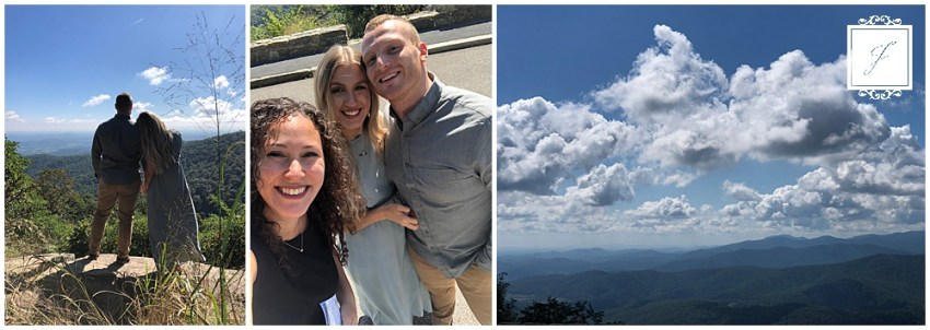 The Jacksons Weekly blog post. This week I took a trip to Virgina to do a venue walk-through at The Refinery in Culpepper with a Joy Filled Occasion's bride & take Engagment photos on Skyline drive.
