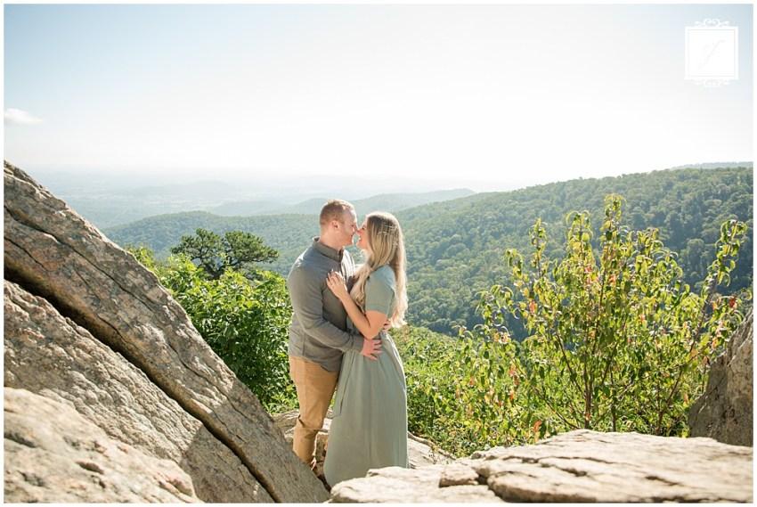 Skyline Drive Shenandoah National Park Virginia Engagement Portraits  byt Jackson Signature Photography a Travel and Destination Elopement and Wedding Photographer.