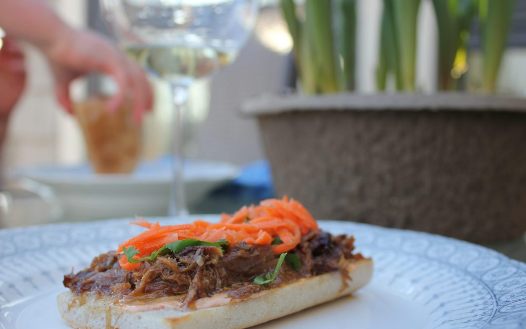 Banh Mi pulled pork sandwich recipe
