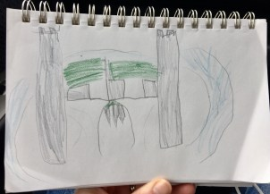 Weston's drawing of Bodiam Castle