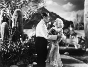 Franchot Tone and Jean Harlow From the Film  Bombshell