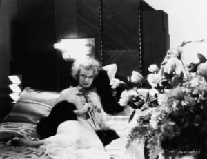Actress Greta Nissen in