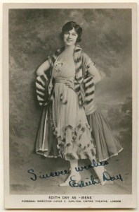 NPG Ax160353; Edith Day as 'Irene' by Unknown photographer