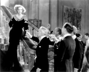 INSPIRATION, Greta Garbo, Lewis Stone (center), 1931