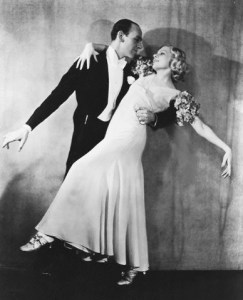 Fred Astaire and Claire Luce in