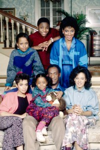 THE COSBY SHOW -- Season 2 -- Pictured: (back row l-r) Tempestt Bledsoe as Vanessa Huxtable, Malcolm-Jamal Warner as Theodore 'Theo' Huxtable, Phylicia Rashad as Clair Hanks Huxtable (front row l-r) Lisa Bonet as Denise Huxtable Kendall, Keshia Knight Pulliam as Rudy Huxtable, Bill Cosby as Dr. Heathcliff 'Cliff' Huxtable, Sabrina Le Beauf as Denise Huxtable Tibideaux (Photo by Al Levine/NBC/NBCU Photo Bank via Getty Images)