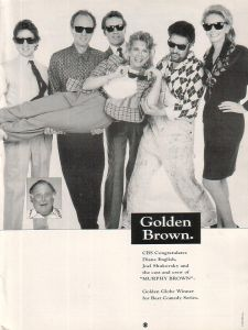 murphy_brown_diane_english_joel_shukovsky_cast_crew_1990_ad-_golden_globe_win