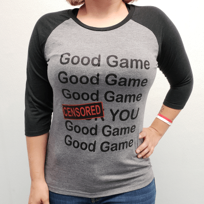 Good Game Shirt - Front