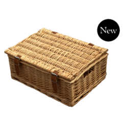 "Standard Hamper 18"" with finger holes"