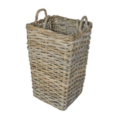 Grey Square Umbrella Basket