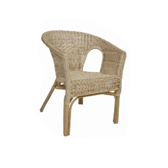 Natural Rattan Adults Chair