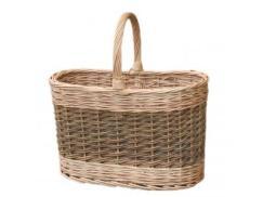 Green Flask Basket