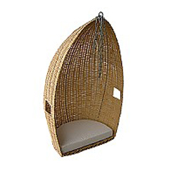 Hanging Coracle Chair