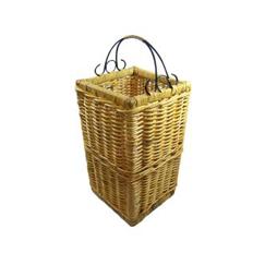 Rattan Umbrellla Basket with Metal handle