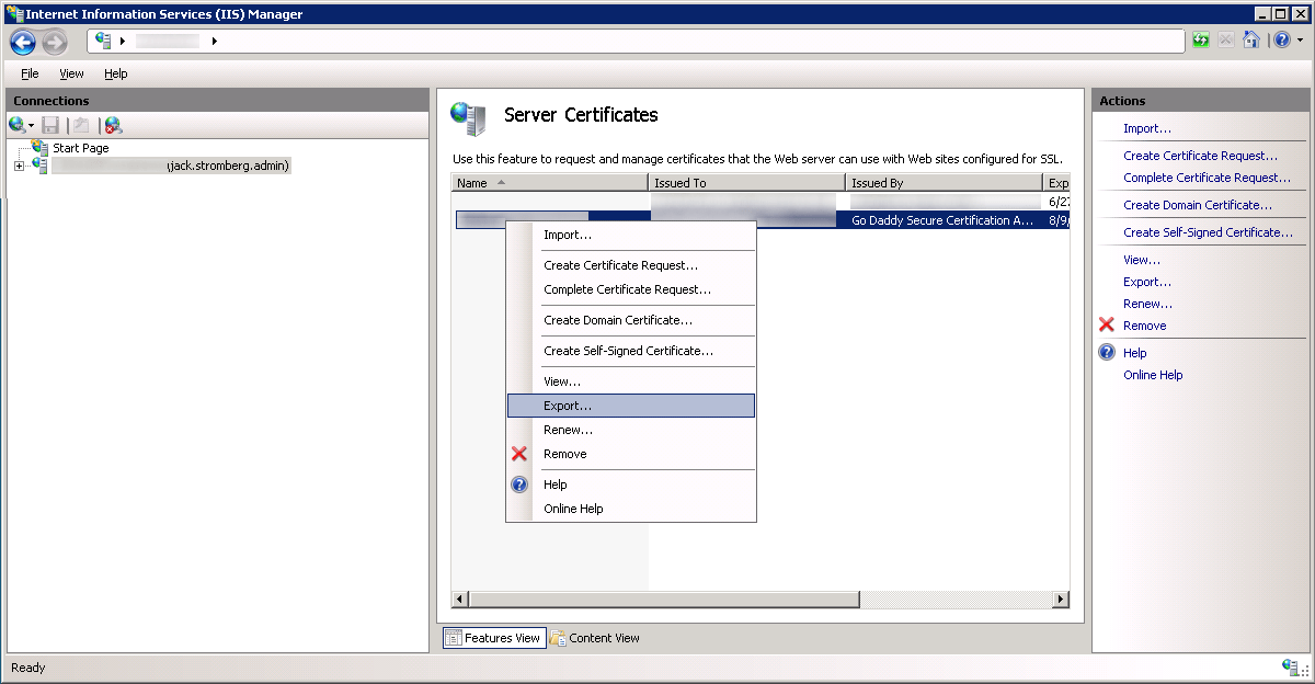 Internet Iis Information Manager Services