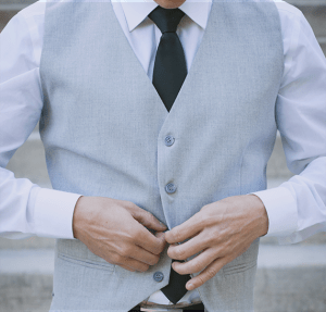 Custom Fitted Vest Suit