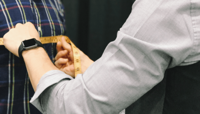 Measuring for a fitted suit