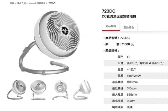 Vornado - 723DC Energy Smart Air Circulator