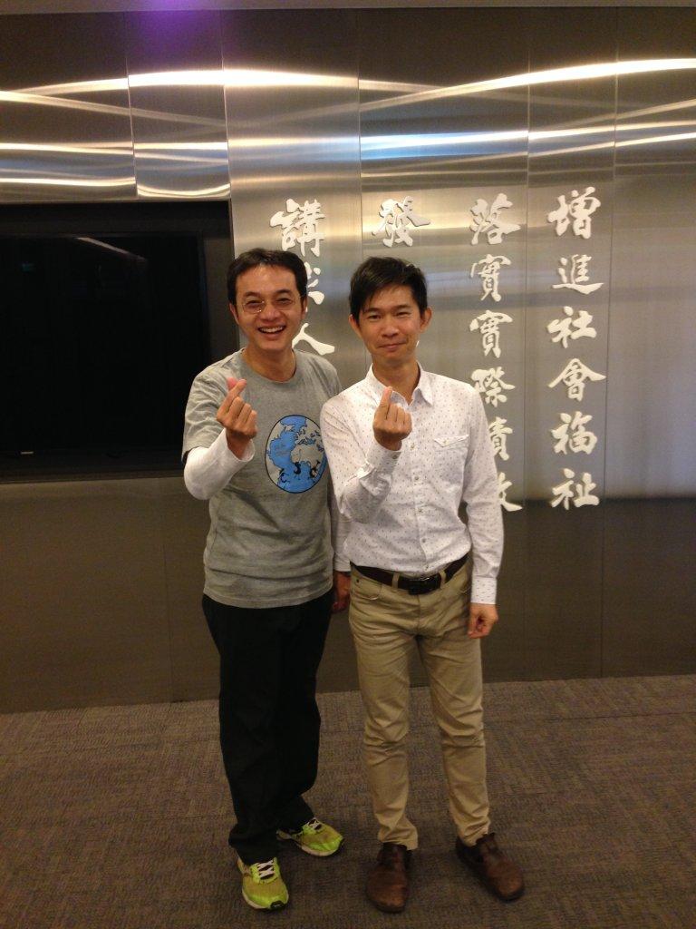 中鋼集團教育基金會-朱啟瑋與傑克老師