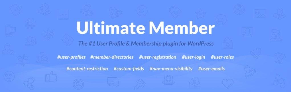 Ultimate Member – User Profile & Membership Plugin