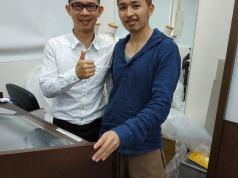 傑克老師與林禎唯老師