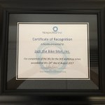 NonprofitsFirst Certificate of Recognition
