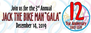 3rd Annual Jack the Bike Man Gala