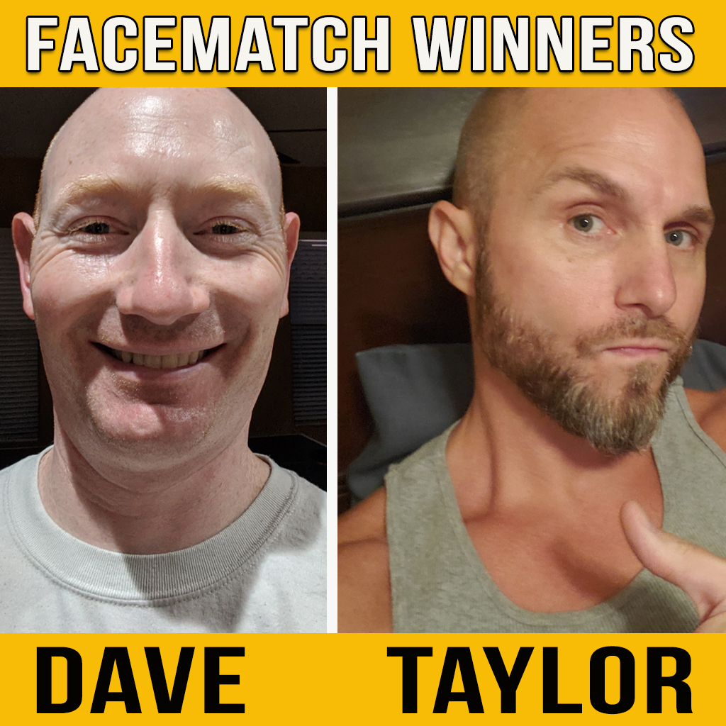 FACEMATCH TRIVIA WINNER 8.28.20